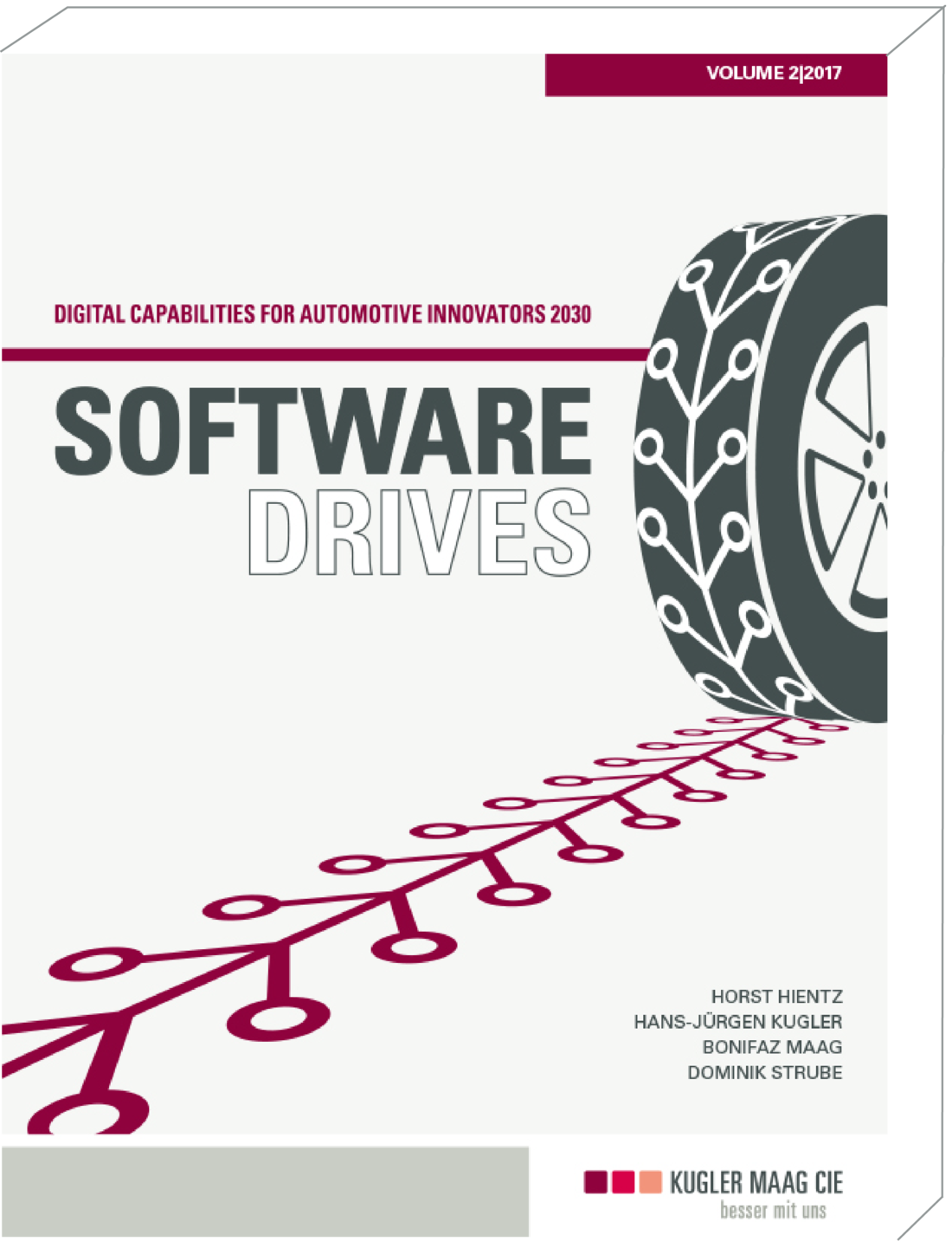 Cover des zweiten Studienreports Software Drives von 2017